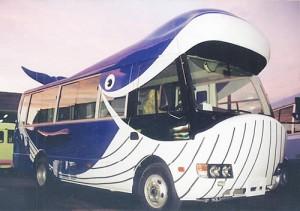Increíbles autobuses escolares que utilizan en Japón para motivar a los niños ir a clases 06